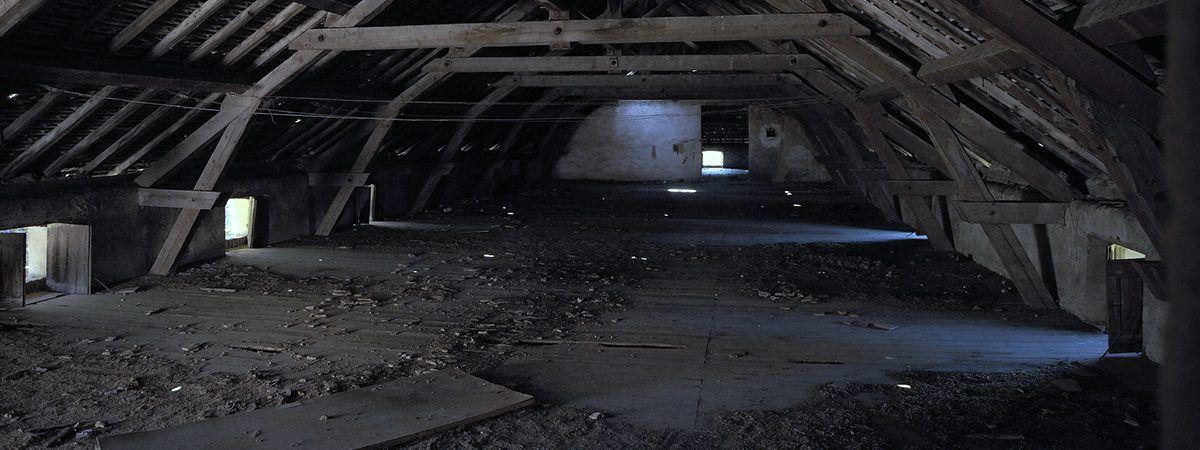 屋根裏のほこり